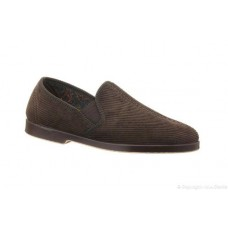 Great British Slippers Style Exeter in Brown