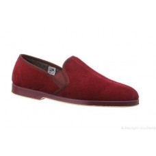 Great British Slippers Style Exeter in Wine