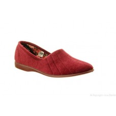 Great British Slippers - Audrey in Burgundy