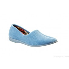 Great British Slippers - Audrey in Pale Blue