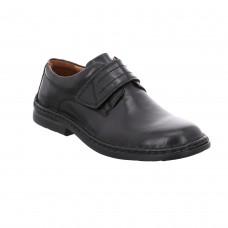 Josef Seibel Mens Lace Shoe in Black - Vigo