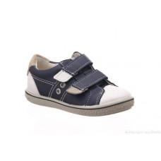 Ricosta Boys Shoe - Nippy in Blue/White
